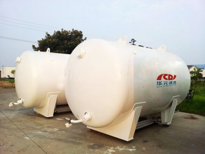 LNG marine fuel tanks